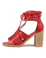 JAYLUV RED LEATHER