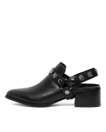 DELANO BLACK LEATHER
