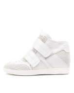 ALAYNA WHITE WHITE SUEDE LEATHER