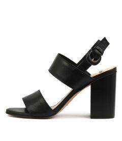 Oline Black Leather