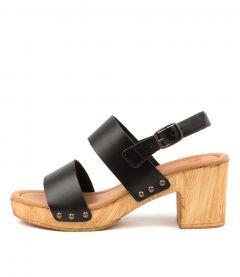 Barwon Black Leather