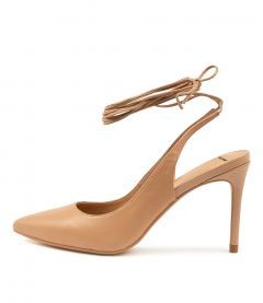 Bylie Dk Nude Leather