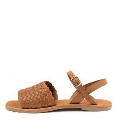 Sandii Tan Leather