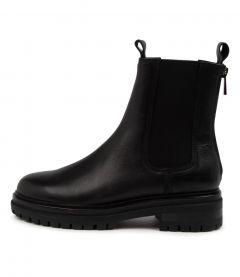 Apeace Mo Black Leather