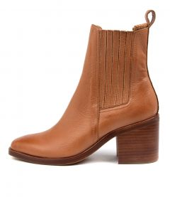 Naydo Mo Tan Brown Heel Leather