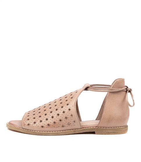 New Diana Ferrari Xeenie Dk Nude Leather Womens Shoes