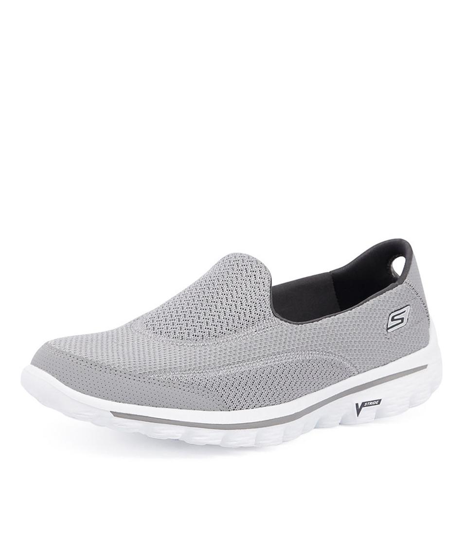 grey skechers go walk