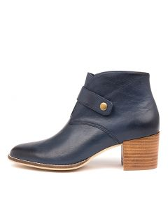 MALORIE NAVY LEATHER
