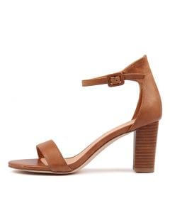 GESSIE TAN VENEER HEEL LEATHER