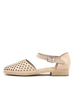 QUANYO LIGHT NUDE LEATHER