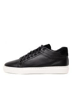 OTTOWA BLACK BLACK OCE LEATHER SUEDE
