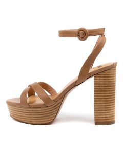 ANNA MO TAN NATURAL HEEL LEATHER