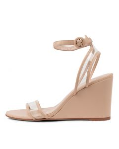 EMMIA MO NUDE CLEAR LEATHER VINYLIT