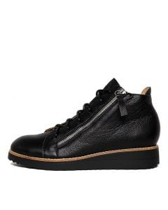 ORRA BLACK BLACK SOLE LEATHER